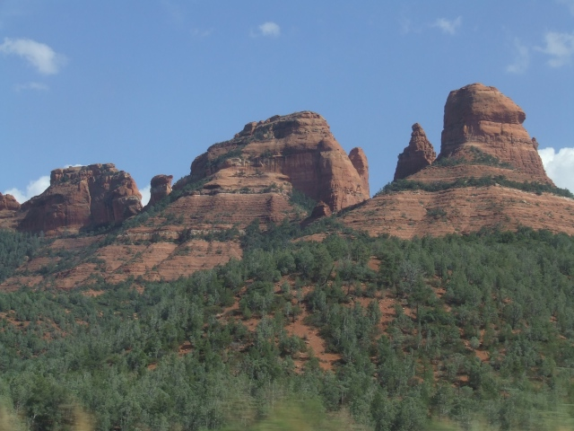 More red buttes