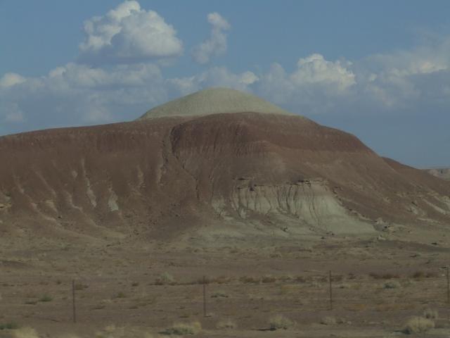 A sandstone dome